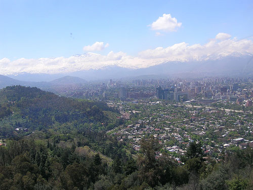 Santiago, Chile (Photo: Foreign and Commonwealth Office/flickr)