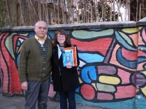 Carlos and I at Hashomer Hatzair, Santiago, Chile