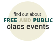 Free Public Events at CLACS