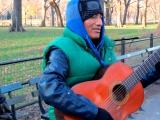 Rupay tocando en Central Park
