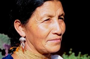 Michelle Cornejo - Huarmi Maqui 3 - Peguche, Ecuador