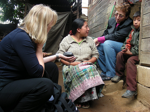 Liliana Goldín in the Central Highlands of Guatemala