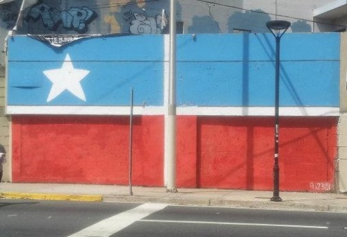 Garcia - Puerto Rico - Revolutionary Flag
