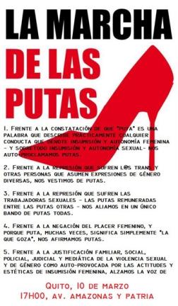 Garriga - Ecuador - poster