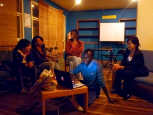 Garriga - Ecuador - Casa Trans meeting