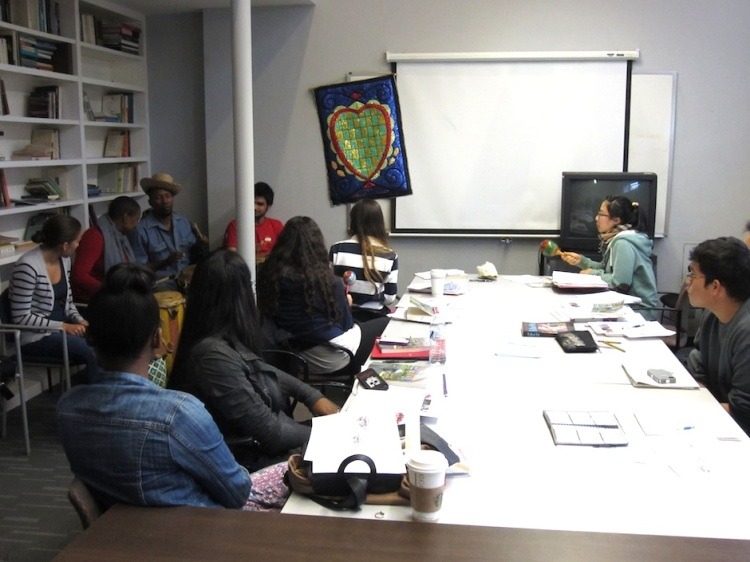 Haitian Musicians at CLACS