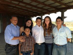 CLACS Alumnus, Kristi Phillips in Honduras (2013)