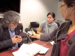 Manuelcha Prado, entrevista, quechua, NYU, ayacucho, peru