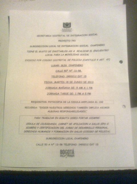 Vargas- Colombia- Secretariaintegracionsocial
