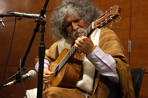 NYU CLACS Quechua Manuelcha Prado Ayacucho Peru Guitarra Andina