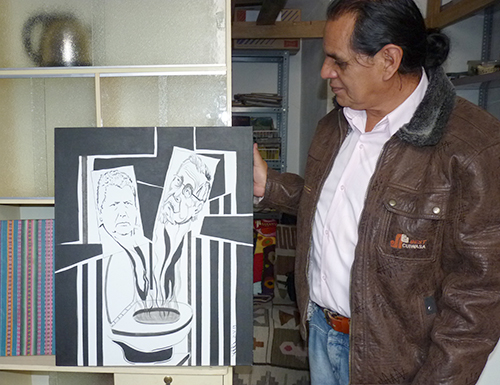 Ayacucho Artist Amauta Huamanga Quechua Wari Musica Pintor Zarate Qelqakamayoq Ayacuchomanta
