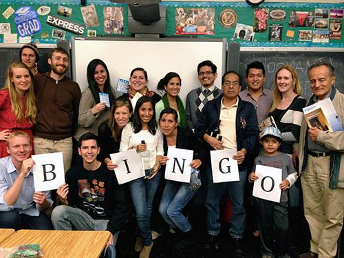 quechua night bingo NYC clacs runasimi