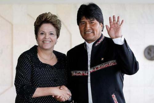 Brazil's Dilma Rousseff and Bolivia's Evo Morales. Photo Credit: The World Outline