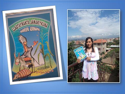 Rimasun Cochabamba Bolivia linguist andean tales quechua condor zorro clacs nyu
