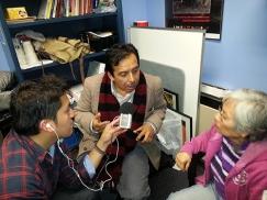 Rimasun Quechua podcasts recording Jorge Elva CLACS NYU