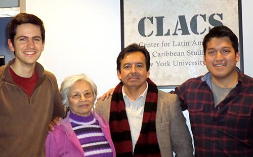 Rimasun Quechua podcasts audio CLACS NYU Jorge Saavedra Elva Ambia Miami NY Initiative