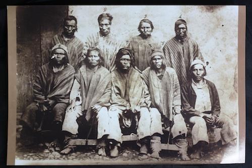 Jailed Aymara soldiers.