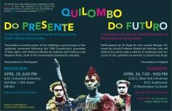 Quilombo do Presente e do Futuro, Poster