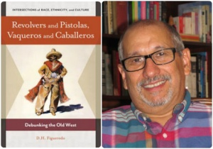 CLACS Alumnus D.H. Figueredo '88 with his newest book Revolvers and Pistolas