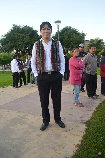 Severino Paredez Gutierrez, UNIBOL. Bolivian Quechua, Chimore, Tapacari, Habas, Variedad de Habas, Ingenieria Agronomica
